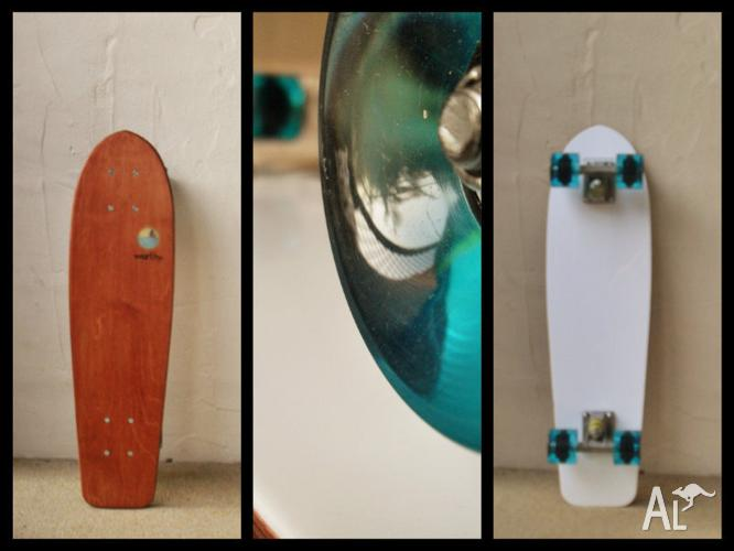 Handmade timber skateboards by Worthy