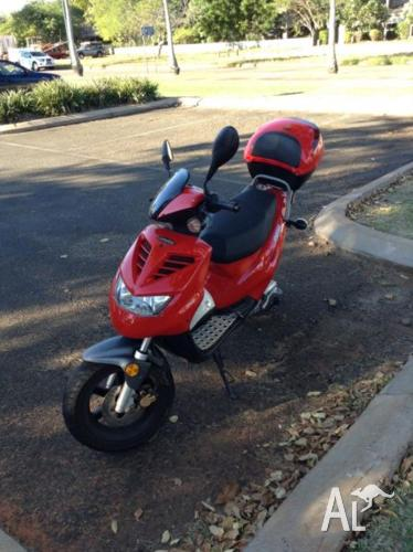 Handy little moped for sale
