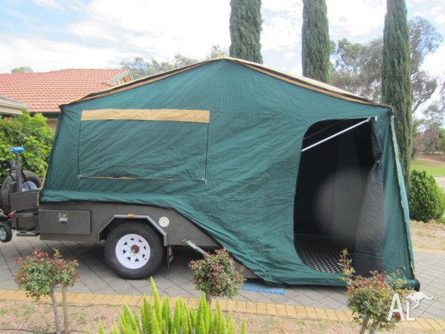 Perfect 1986 Viscount Camper Van Camper Trailer FOR SALE From New South Wales