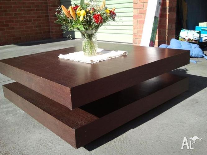 Hard wood coffee table