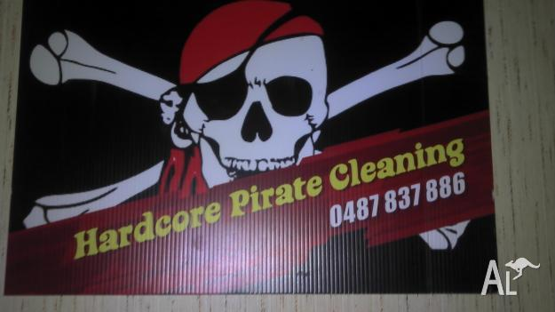 Hardecore pirate cleaning