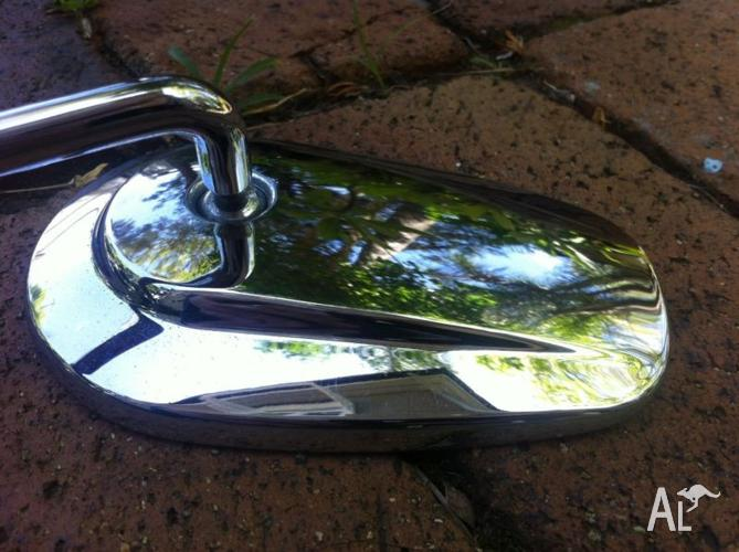 Harley Davidson Mirrors - Genuine and as good as new.