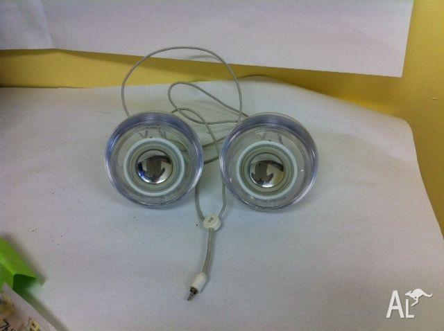 Harman Kardon Apple Pro Clear Round Speakers