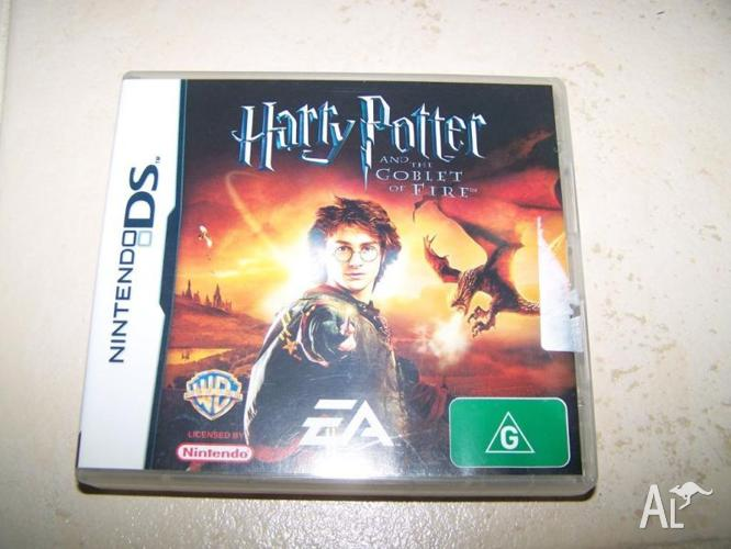 Harry potter and the goblet of fire nintendo DS game