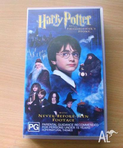 Harry Potter And The Philospher's Stone Video Movie VHS