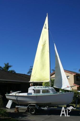 Hartley Trailer Sailer - 16ft