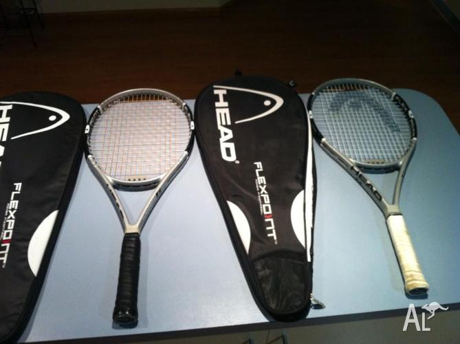Head Flexpoint 6 tennis raquet X 2