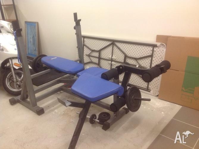 Health stream workout bench