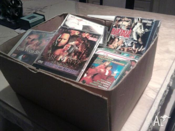 Heaps of vcd's some new and some used