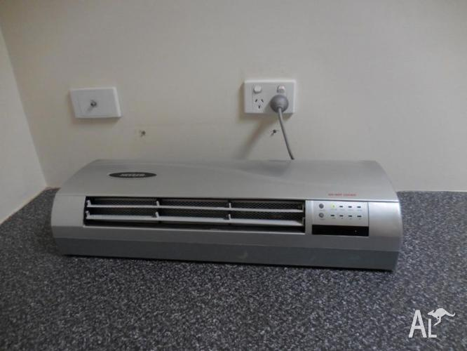Heller wall unit (heating & Cooling) with remote