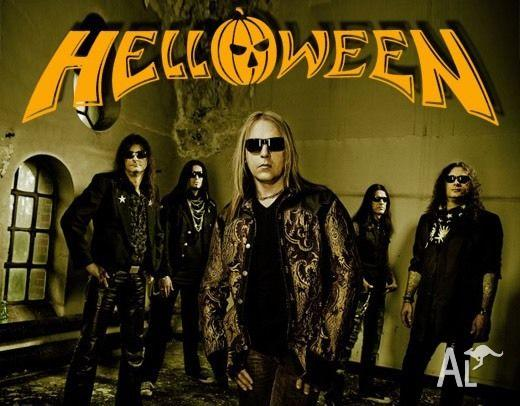 Helloween Melbourne Concert 14/10/2015 $17.3 cheaper
