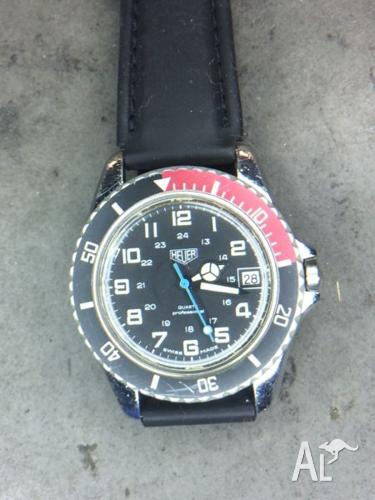 Heuer Quartz Date from the Late 70's (Pre TAG)
