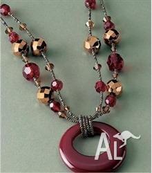 High Fashion Jewellery -Alloy Acrylic Vintage Style