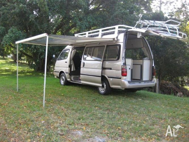 High Roof Campervan with Roofrack and Side Awning for Sale in