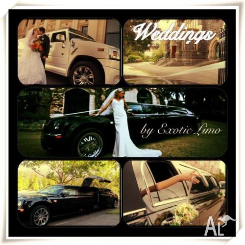 Hire Attention-Grabbing Limousines from Exotic Limo