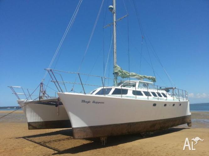 Hitchiker sailing catamaran