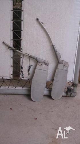 Hobie cat 14 solid marine grade aluminium Rudder and