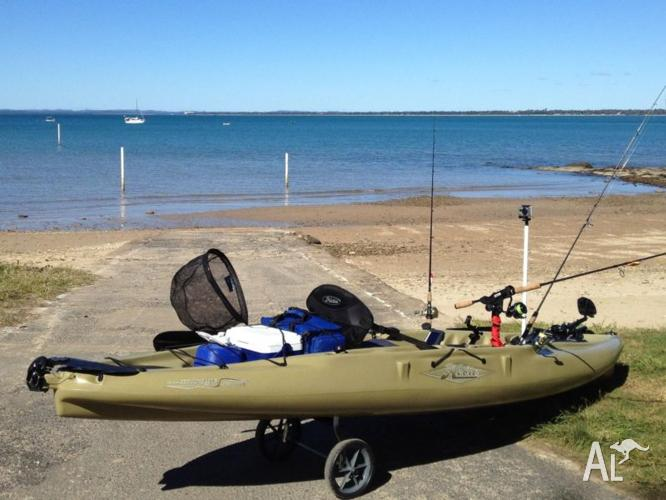 Hobie Mirage Outback + Extras!
