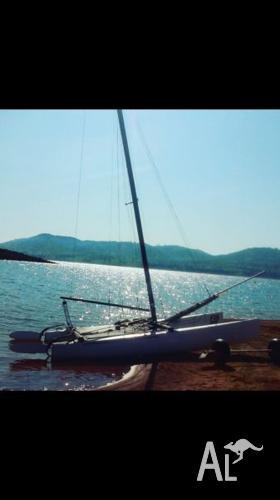 Hobie tiger catamaran F18