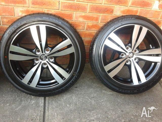Holden 2015 Tyres and Rims
