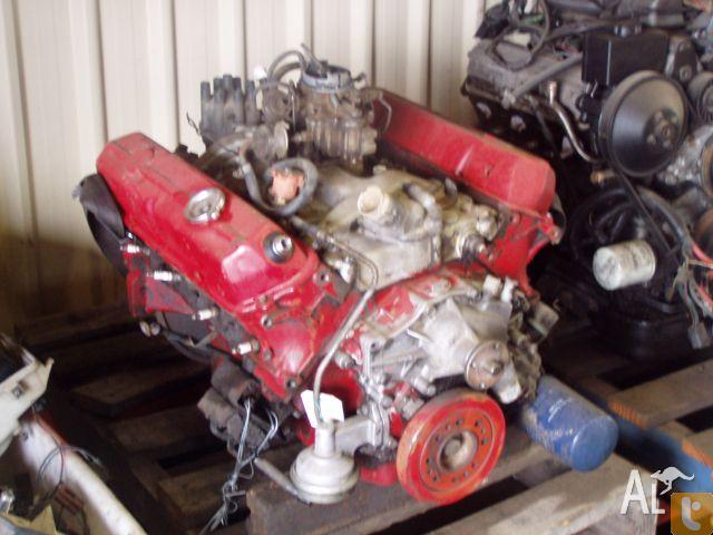 Holden 253 4 2 Litre Red V8 Engine Hq Hj Hx Hz Wb Vb Vc For Sale In