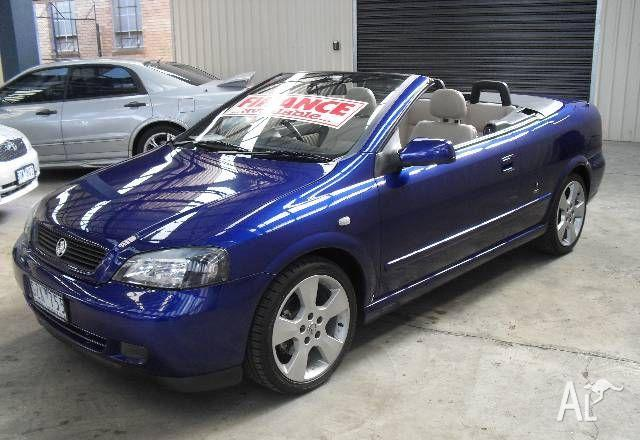 Holden Astra Convertible Ltd Ed Ts 2004 For Sale In