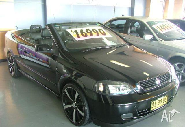 HOLDEN ASTRA CONVERTIBLE TS   2003