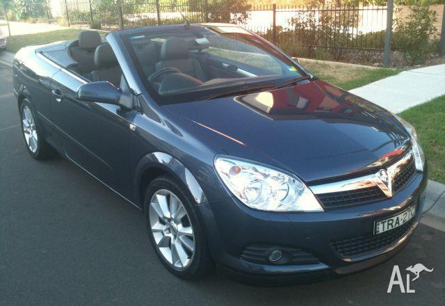 HOLDEN ASTRA TS CONVERTIBLE MY06   2007