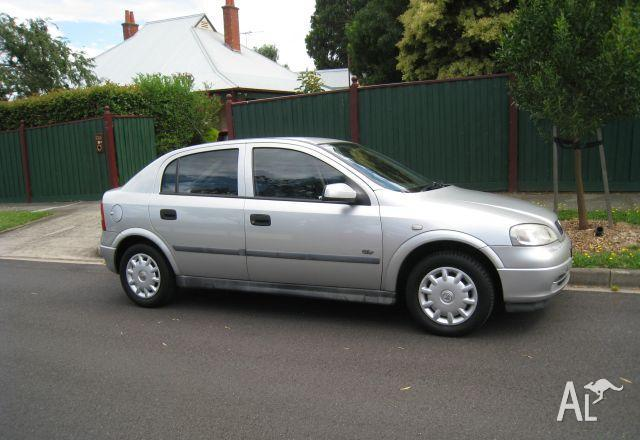 HOLDEN ASTRA TS   2001