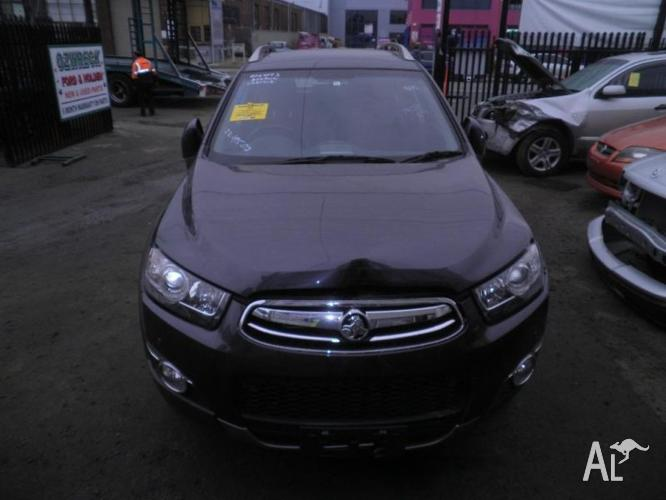 HOLDEN CAPTIVA LX 2012 2.2L TURBO DIESEL WE ARE
