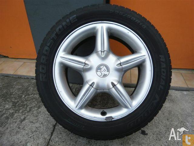 HOLDEN VTS PAK 16 INCH GENUINE ALLOY WHEELS for Sale in