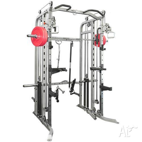 Home gym smith machine power rack functional trainer multi