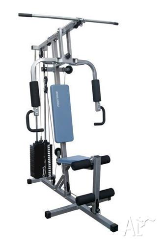 Home gym multi work station as new proteus studio for