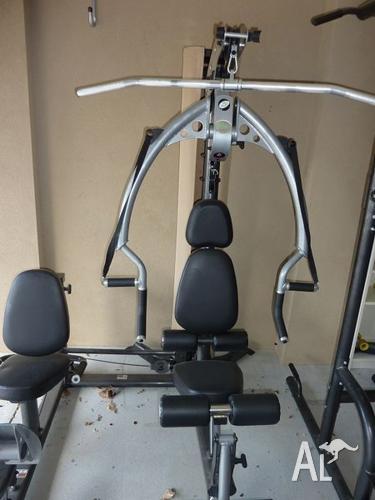 Home gym orbit z with leg press plus celsius power