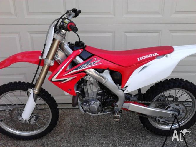 HONDA 2010 CRF 450 Fuel injected