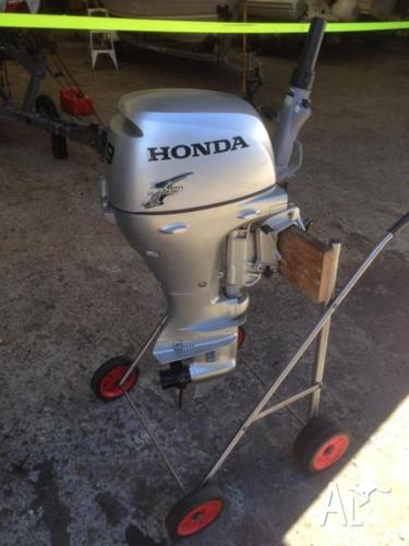 Honda 9 9hp Outboard Motor Four Stroke Short Shaft