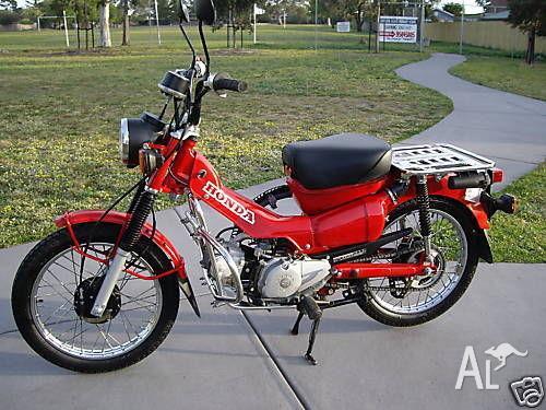"honda ct 110 ex - aust post ""a"" grade postie bikes for sale in"