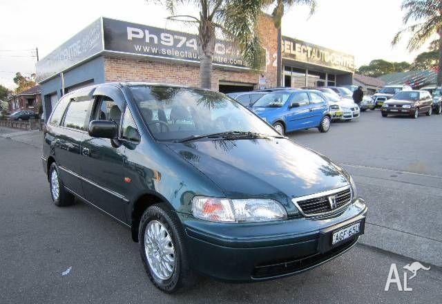 honda odyssey 6 seat 1998 for sale in croydon new south wales classified. Black Bedroom Furniture Sets. Home Design Ideas