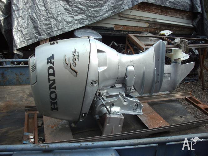 Honda Outboard Motor 50 Hp Stroke 20 Elec Start Tilt