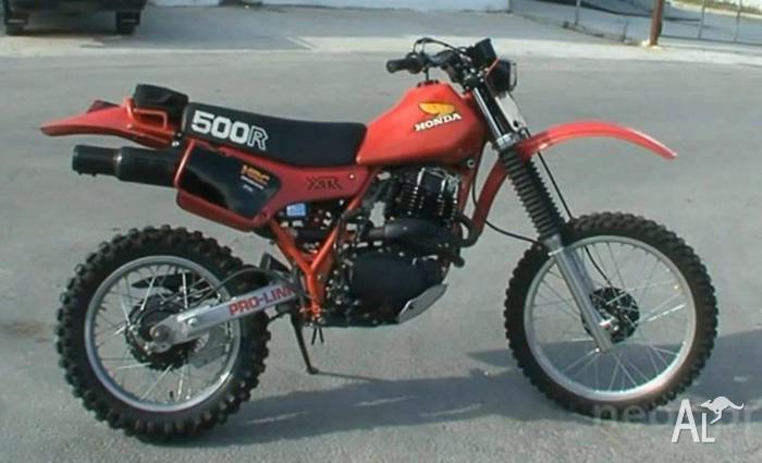 Honda xr 500 RC parts