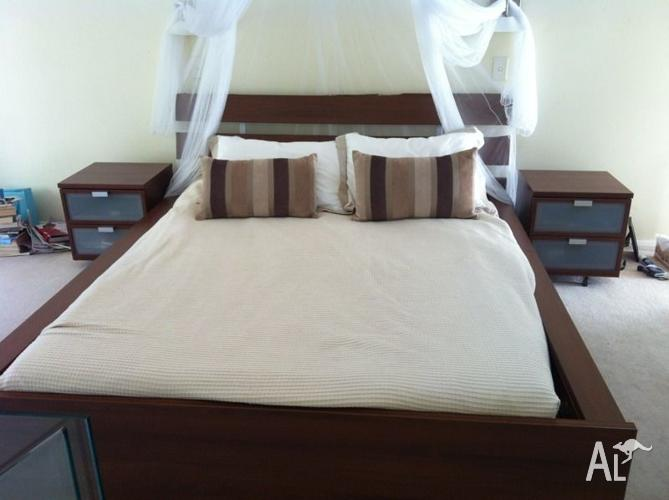 Hopen Ikea Queen Bed Package For Sale In Moore Park New South Wales Classified