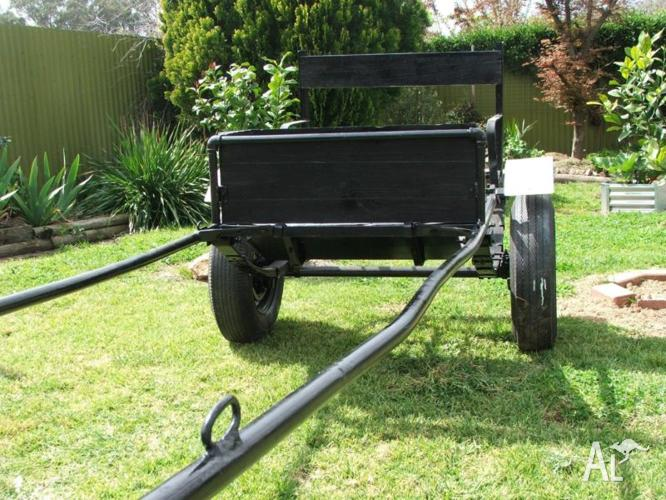 HORSE DRAWN SULKY/JINKER/BUGGY/PONY CART for Sale in BENALLA