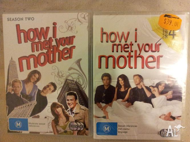 How I Met Your Mother Season 2 & 4 DVDs - $10 each.