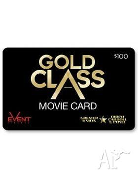 hoyts gold class voucher for sale in golden grove south