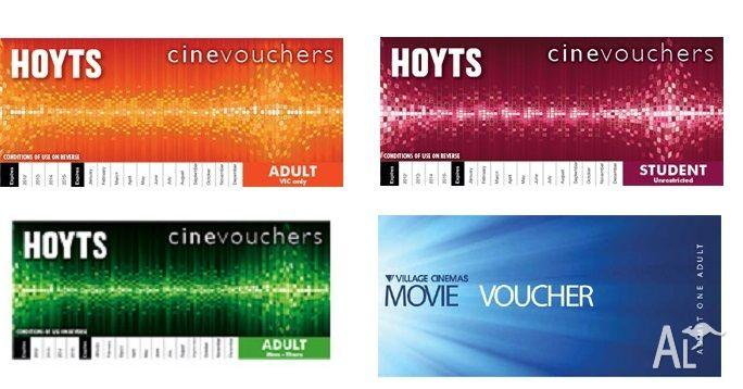 Hoyts Village Cinema Vouchers Save Free Delivery For Sale