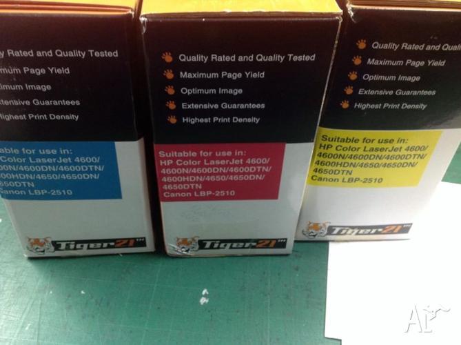 HP Color laserJet cartrides