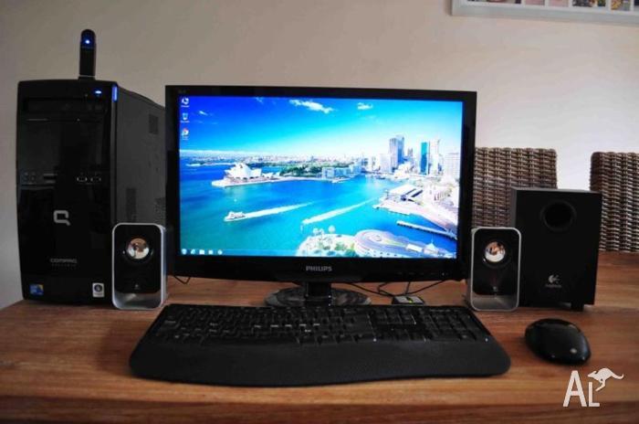 HP Compaq Presario Desktop Computer PC Windows
