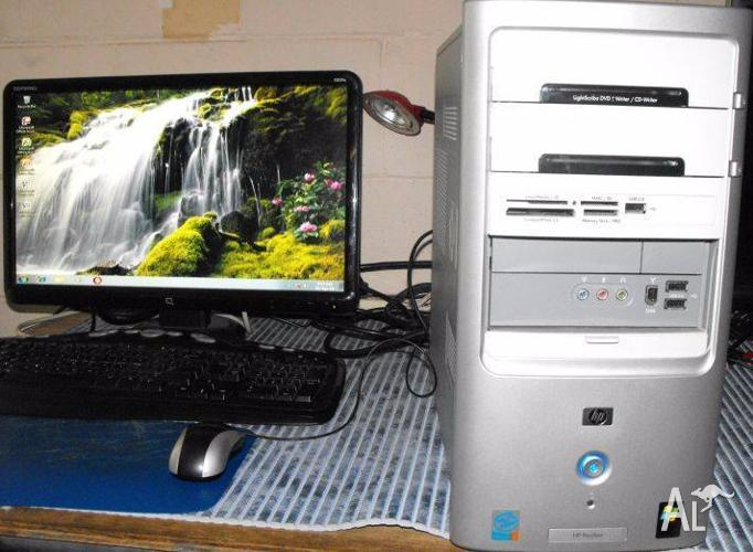 HP Win7 Desktop PC with MS Office 2007
