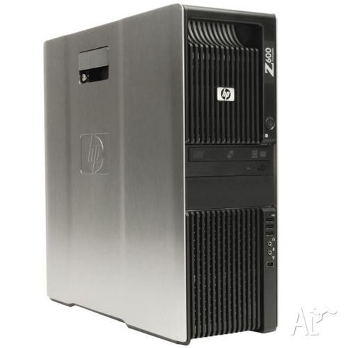 HP Z600 Desktop Dual XEON E5620 2.4GHz 12MB, 24GB RAM,