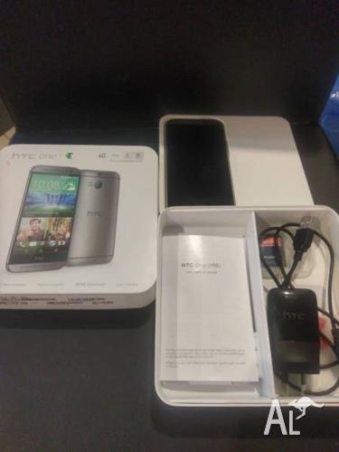 HTC One M8 16GB Unlocked Near New With Accessories and